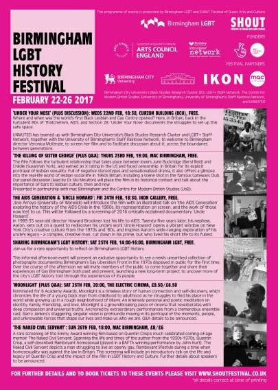 Birmingham LGBT History Festival INTERIOR pages RBG