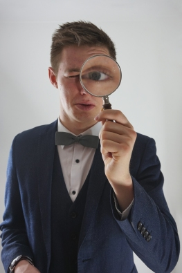 Tyler Magnifying glass photo