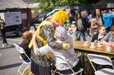 Disco Afternoon Tea - Bearwood Street Festival (image: Emwa Jones)